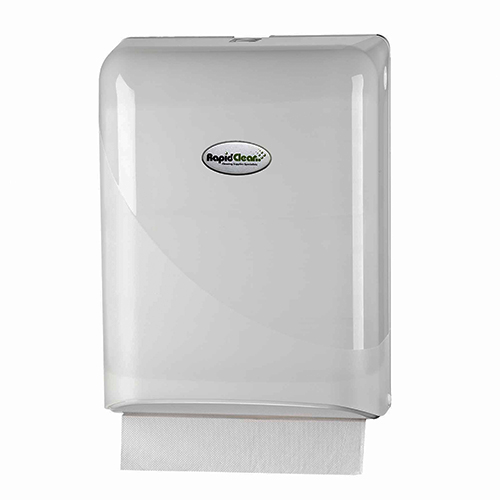 Hand Towel Dispenser B Q: RapidClean Ultraslim Hand Towel Dispenser