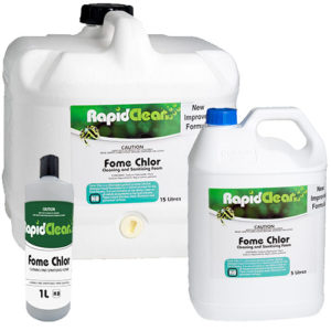 RapidClean Fome Chlor Cleaning & Sanitising Foam
