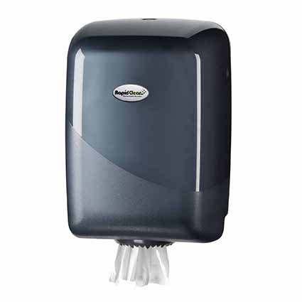 RapidClean Centre Pull Hand Towel Dispenser