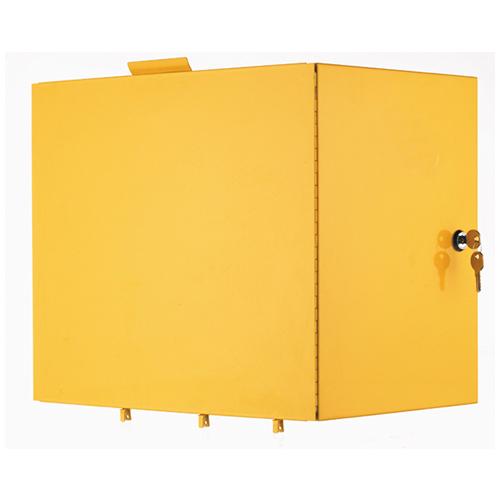 Janitors Cart Mark II - Locking Compartment