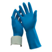 Flock Lined Rubber Gloves