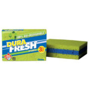 DuraFresh Bio-degradable Sponges - 3 Pack