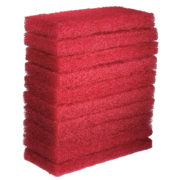 Eager Beaver Red Floor Pad - 10 Pack