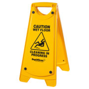 RapidClean Non-Slip A Frame Wet Floor Sign