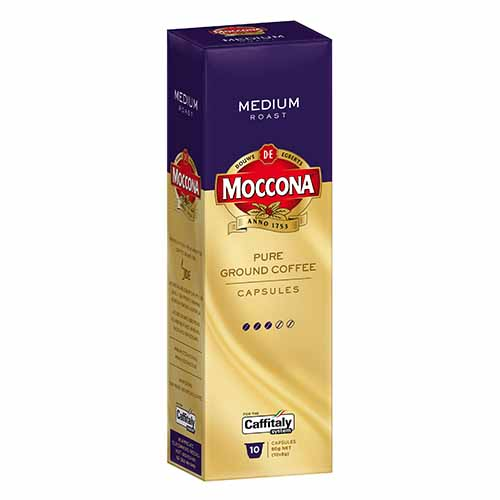Moccona Medium Roast Caffitaly Capsules