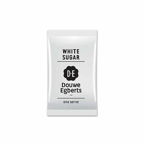 JDE Coffee White Sugar Sachets