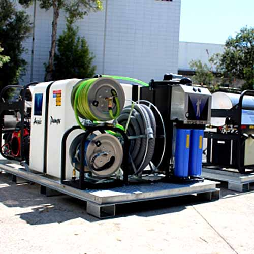 Aussie Pumps Hydro Loop Mobile Steam Cleaner 4000 Psi