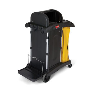 Rubbermaid High Security Cleaning Cart