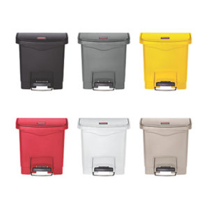 Rubbermaid Slim Jim Resin Front Step Bin 15L