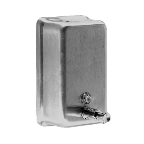Davidson Washroom Bulk Fill 1.2L Stainless steel vertical Dispenser