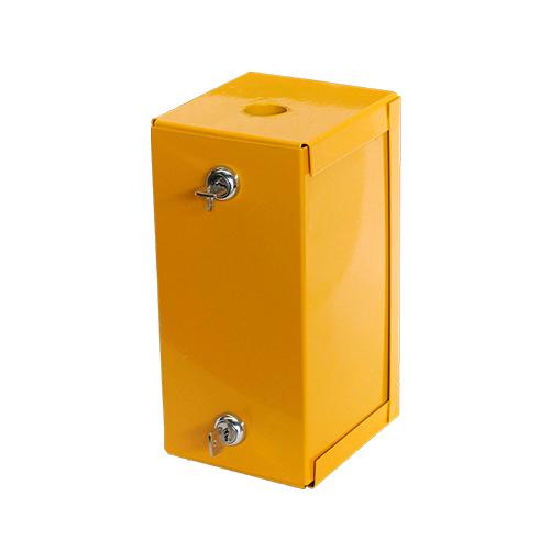 Davidson Washroom Metal lockable outer sharps container