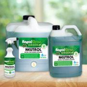 RapidClean Neutrol Low Foaming Detergent