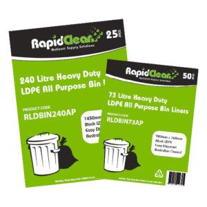 All Purpose Black LDPE Garbage Bags