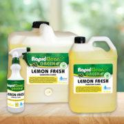 RapidClean Lemon Fresh Disinfectant
